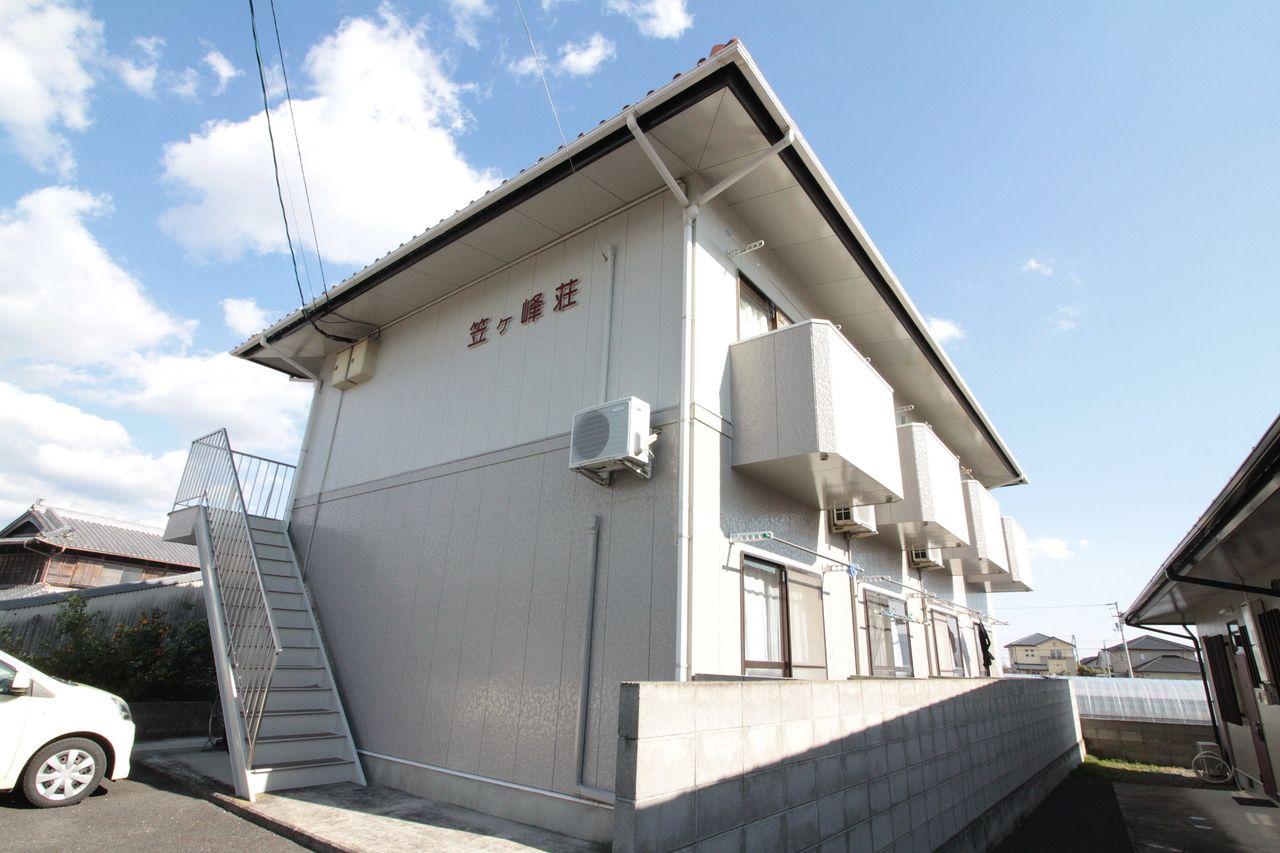 笠ヶ峰荘(^^♪南からの外観☆★