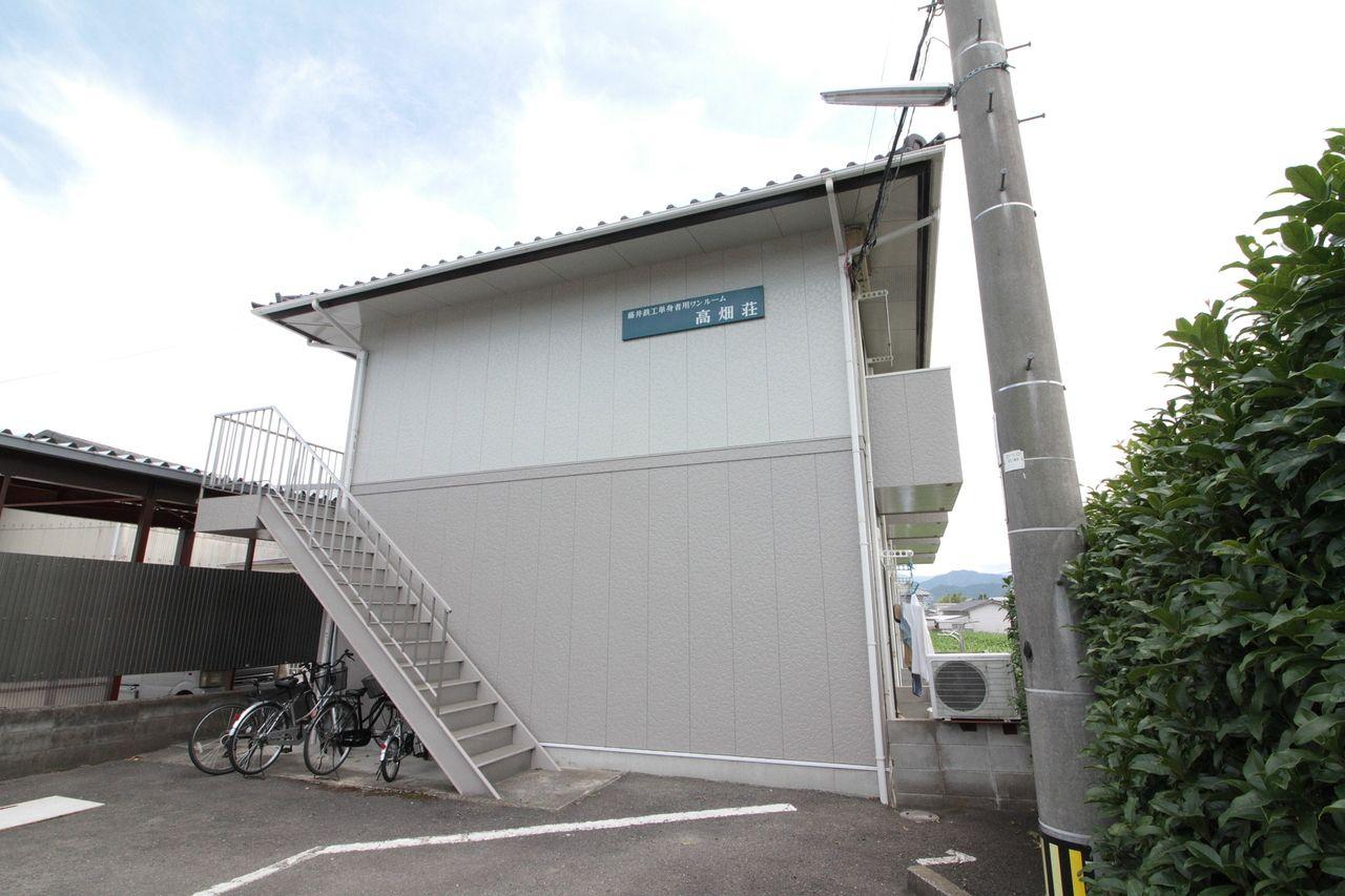 高畑荘(^^♪北側からの外観☆★